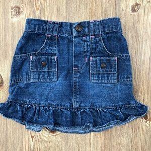 Old Navy toddler girls denim skirt 5T